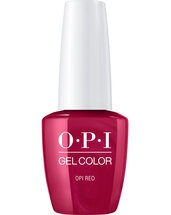 OPI Red - GelColor - OPI
