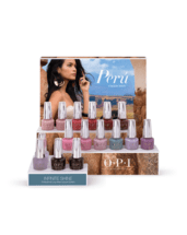 OPI Peru Collection salon display