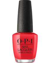 OPI Nail polish bottle Red My Fortune Cookie