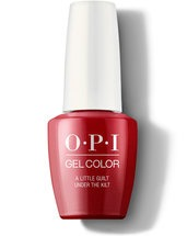 A Little Guilt Under The Kilt - GelColor - OPI