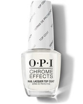 Chrome Effects Nail Lacquer Top Coat - Top & Base Coats - OPI