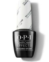 Chrome Effects No-Cleanse GelColor Top Coat - Top & Base Coats - OPI