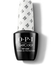 GelColor Top Coat - Top & Base Coats - OPI