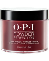 OPI Powder Perfection Got the Blues for Red dipping powder