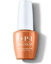 Have Your Panettone and Eat it Too - GelColor - OPI