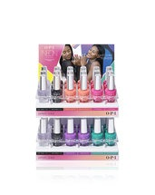 Neons by OPI Infinite Shine 36 Pc Acrylic Display