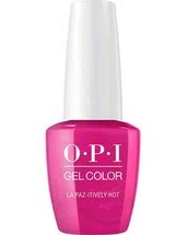 OPI GelColor nail polish La Paz-itively Hot
