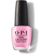 OPI Grease Collection Leather Like Finish - Electryfyin' Pink Nail Polish bottle