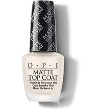Matte Top Coat - Top & Base Coats - OPI
