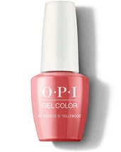 "My Address is ""Hollywood"" - GelColor - OPI"