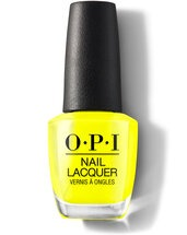 OPI Nail lacquer bottle No Faux Yellow