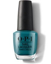 OPI Grease Collection Teal Me More, Teal Me More nail polish bottle