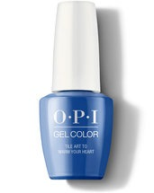 Tile Art to Warm Your Heart - GelColor - OPI