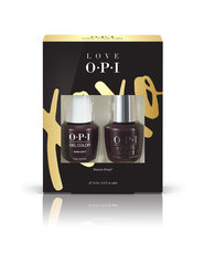 OPI LOVE OPI XOXO GelColor and Infinite Shine nail polish duo pack #3
