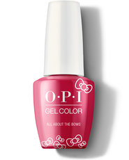 OPI Hello Kitty Collection GelColor All About the Bows