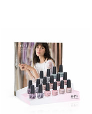 """ALWAYS BARE FOR YOU '19 """"B"""" 16PC Chipboard Display - Collection Displays - OPI"""