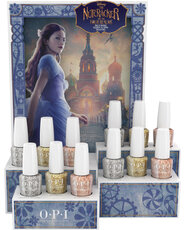 Nutcracker GelColor 12 PC Glitter Chipboard Display - Collection Displays - OPI