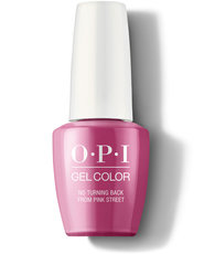 No Turning Back From Pink Street - GelColor - OPI