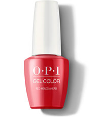 Red Heads Ahead - GelColor - OPI