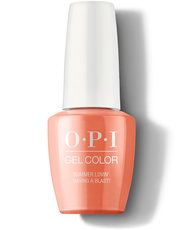 OPI Grease Collection Summer Lovin' Having a Blast! GelColor nail polish 15 mL bottle