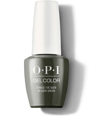 Things I've Seen in Aber-green - GelColor - OPI