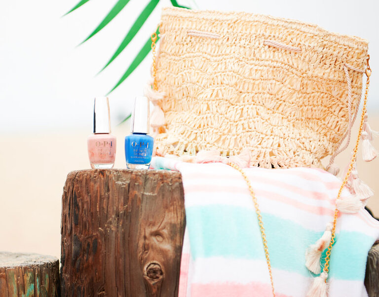 Vacation nails for a beach getaway