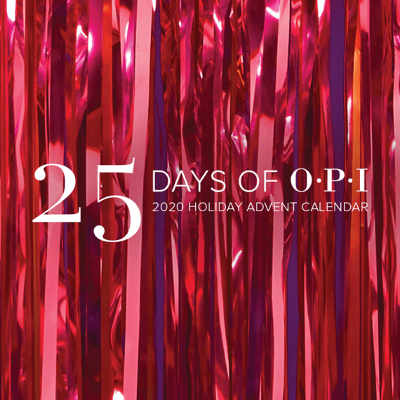 25 Days of OPI with the Holiday Advent Calendar!