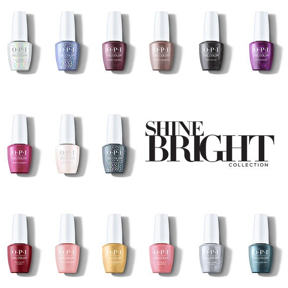 OPI Holiday Shine Bright Collection GelColor