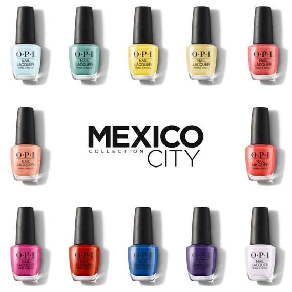 OPI Mexico City Collection Nail Polish