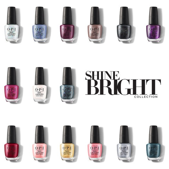 OPI Holiday Shine Bright Collection Nail Polish