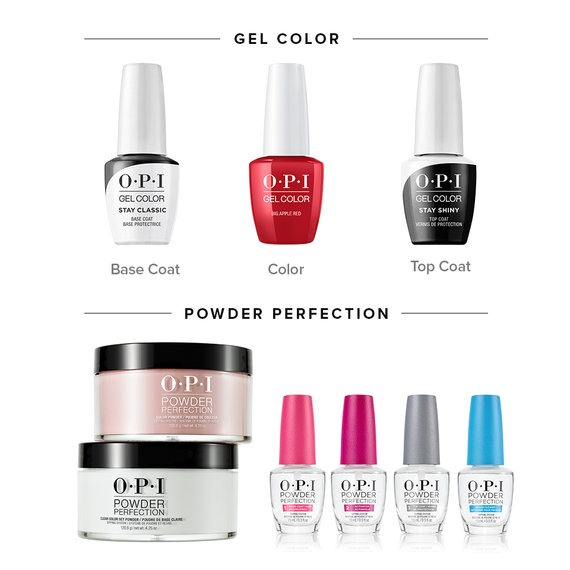 OPI GelColor vs Powder Perfection
