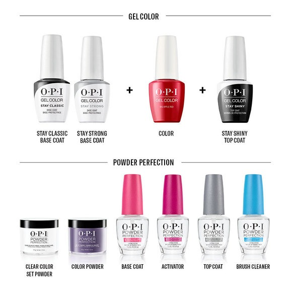 OPI GelColor vs. OPI Powder Perfection Comparison