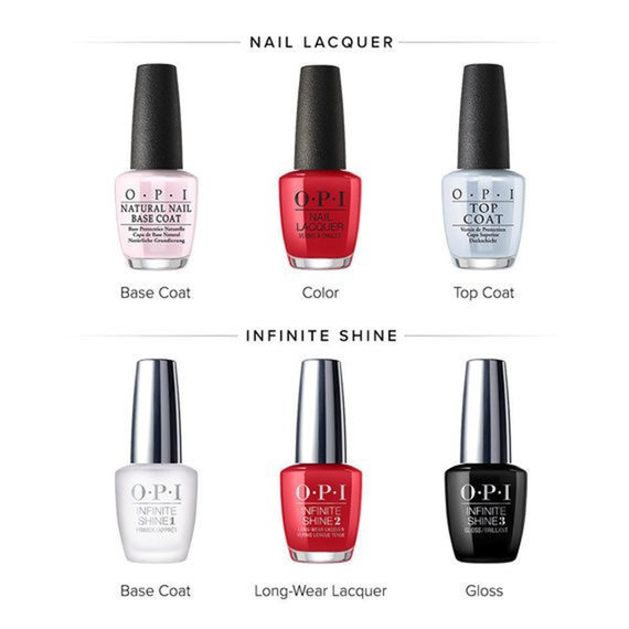 Nail Lacquer and Infinite Shine