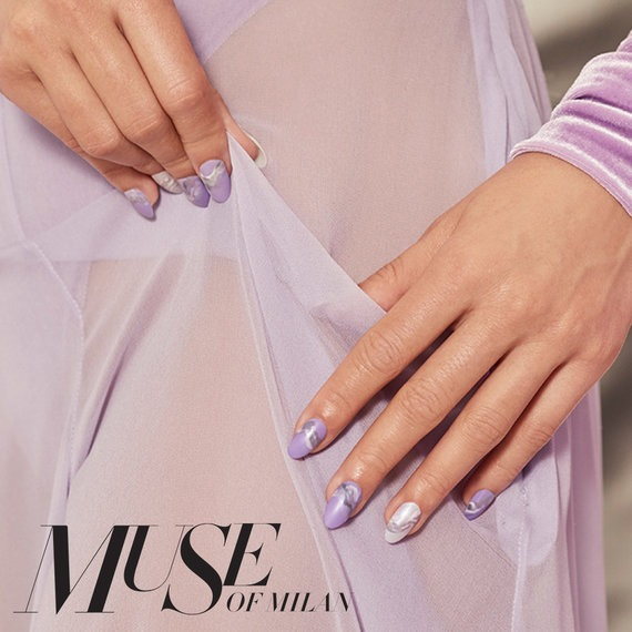 Muse of Milan Nail Art