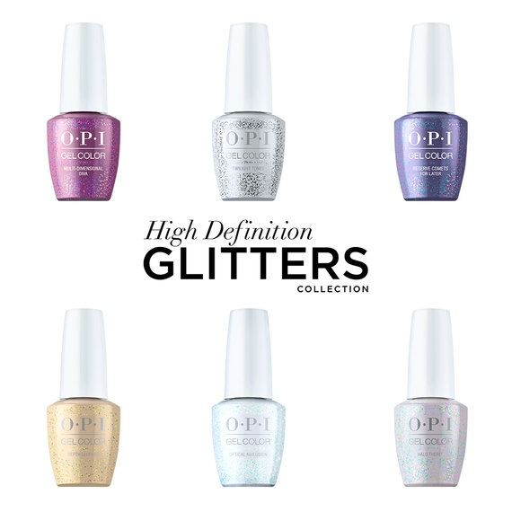 OPI GelColor High Definition Glitters Collection