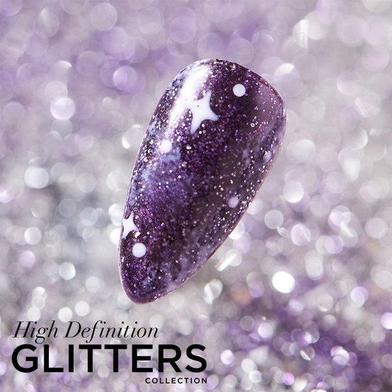 OPI Pro HD Glitters GelColor Nail Art Look: Star Crossed Illusions