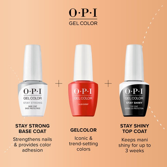 Introducing OPI GelColor Stay Strong Base Coat