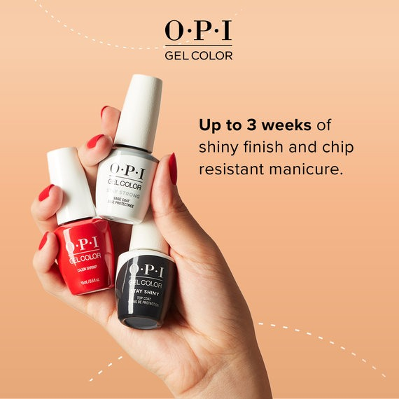 The New OPI GelColor Line Up