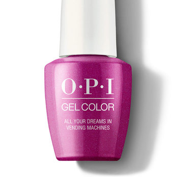 All Your Dreams in Vending Machines - GelColor - OPI