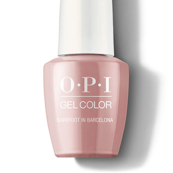Barefoot in Barcelona - GelColor - OPI