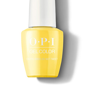 Exotic Birds Do Not Tweet - GelColor - OPI