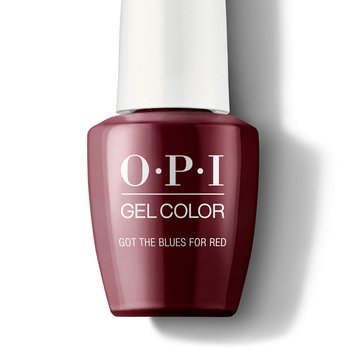 Got the Blues for Red - GelColor - OPI