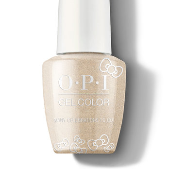 Many Celebrations to Go! - GelColor - OPI