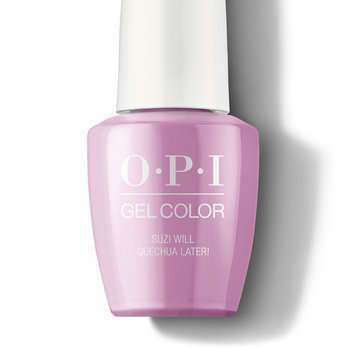 Suzi Will Quechua Later! - GelColor - OPI