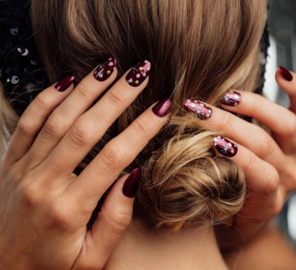 All Decked Out Nail Art