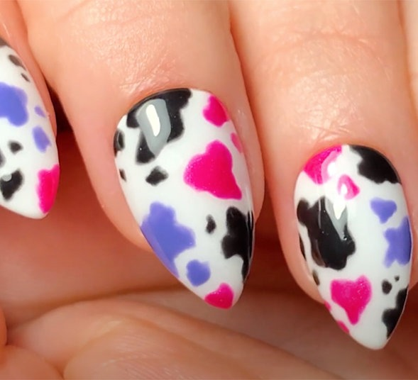 OIP Pro Nail Art Look: Udderly Adore You