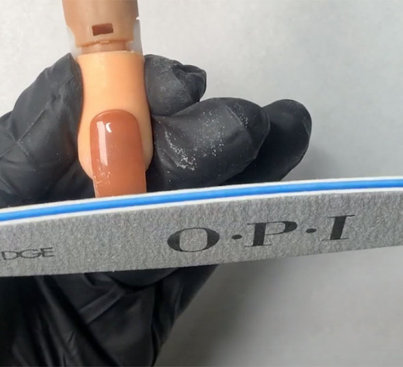 OPI Pro Tips How to Properly File for Straight Sidewalls