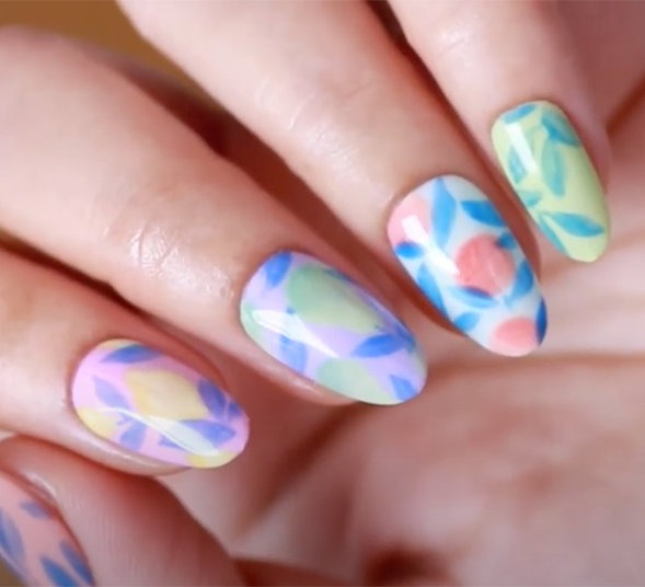 OPI Pro Nail Art Look: Squeeze the Day