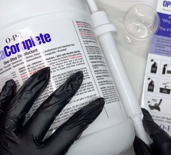 OPI Pro Tips: How to Use Spa Complete for Proper Sanitation
