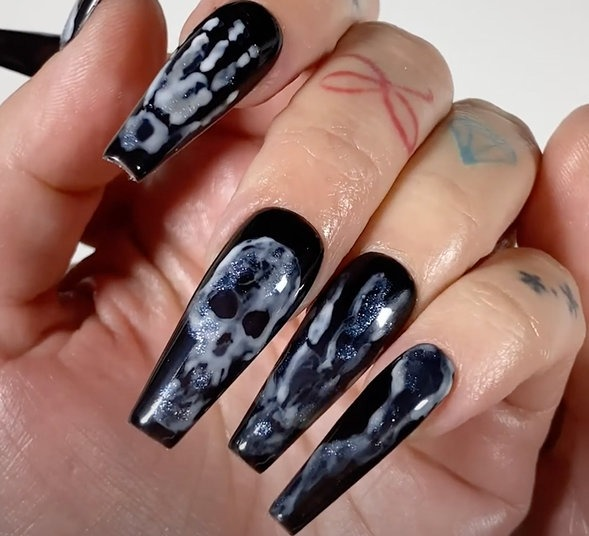OPI Pro Nail Art Look: Too Ghoul For School